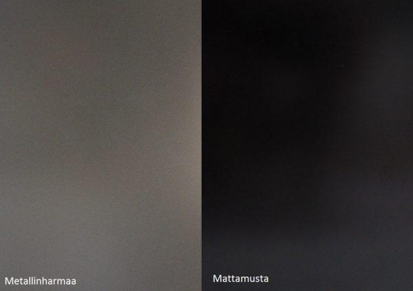 Alumocci metallinharmaa - mattamusta
