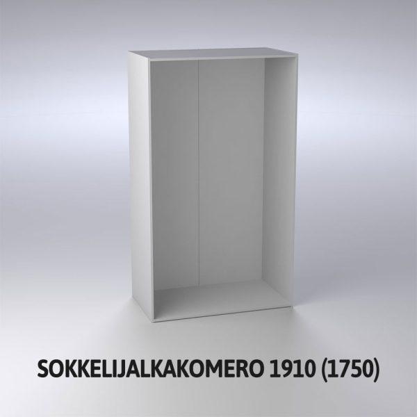 Sokkelijalkakomero 1910 (1750)