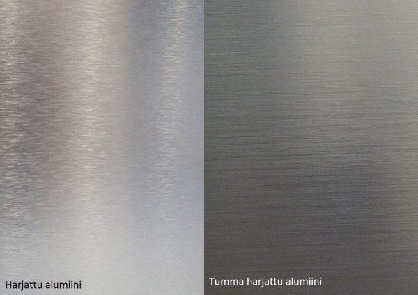 Alumocci harjattu alumiini - Tumma alumiini