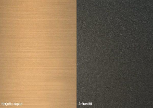 Alumocci harjattu kupari - antrasiitti