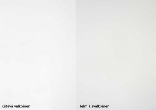 Alumocci kittava valkoinen - helmiäisvalkoinen