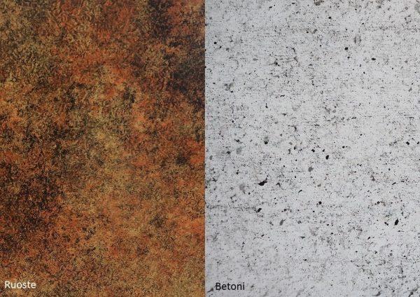 Alumocci ruoste - betoni