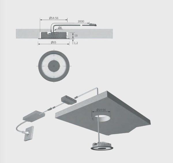 Miniflat Plus LED Asennus