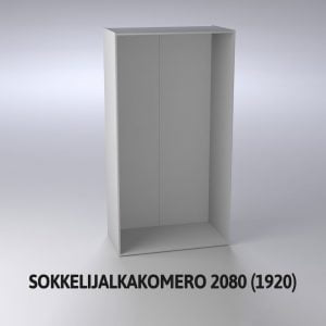 Sokkelijalkakomero 2080 (1920)